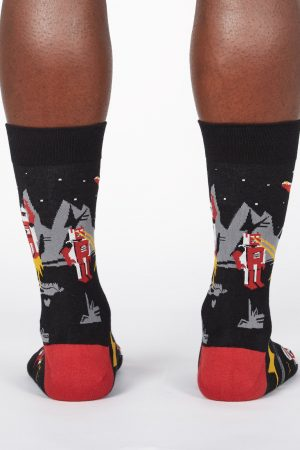 Zap! Zap! Sock It To Me Dress Crew Socks