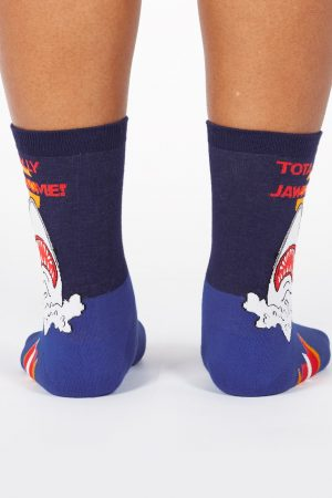 Totally Jawsome! Sock It To Me Trouser Crew Socks