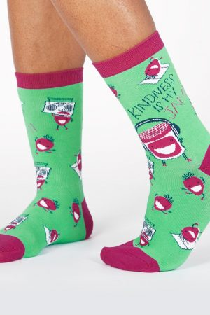 Kindness is My Jam Sock It To Me Trouser Crew Socks