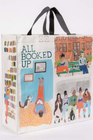 All Booked Up Blue-Q Shopper Tote