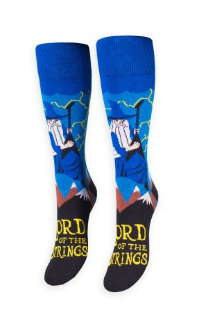 Lord of the Strings Freaker USA Crew Socks New Unisex