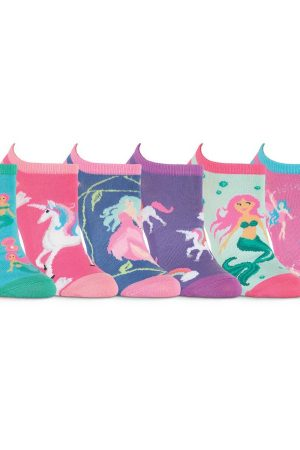 Mythical Creatures K Bell No Show Socks