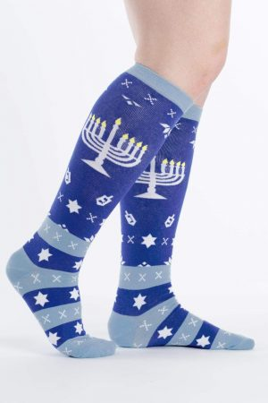 Mazel Toes Knee High Socks