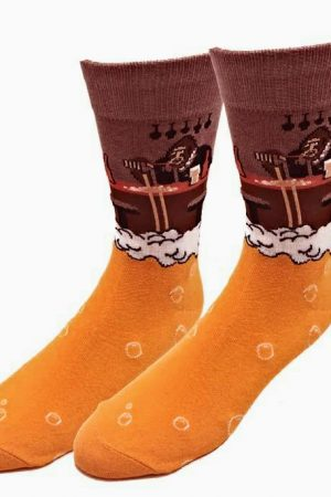 Bartender Bigfoot Sock Co. Novelty Crew Socks New Unisex M/L