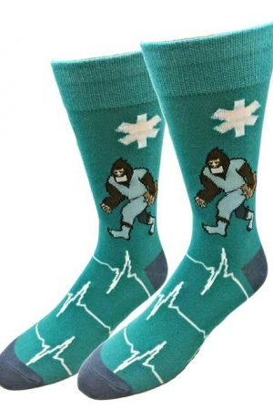 Doctor Bigfoot Sock Co. Novelty Crew Socks New Unisex M/L