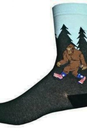 Classic Bigfoot Sock Co. Novelty Crew Socks New Men X-Large