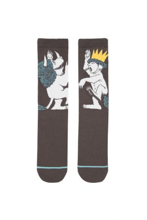 Where the Wild Things Are Out of Print Unisex Large Crew Socks