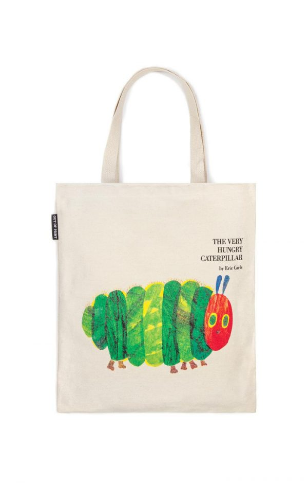 The Very Hungry Caterpillar Out Of Print Book Cover Canvas Tote Bag