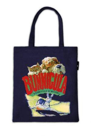 Bunnicula Out Of Print Book Cover Canvas Tote Bag