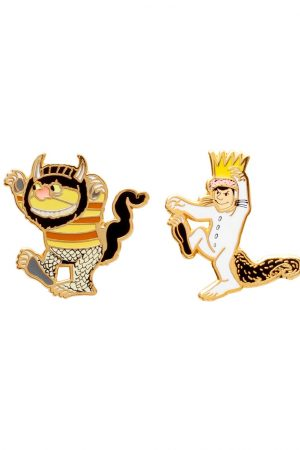 Where the Wild Things Are Out Of Print Enamel Lapel Pin Set