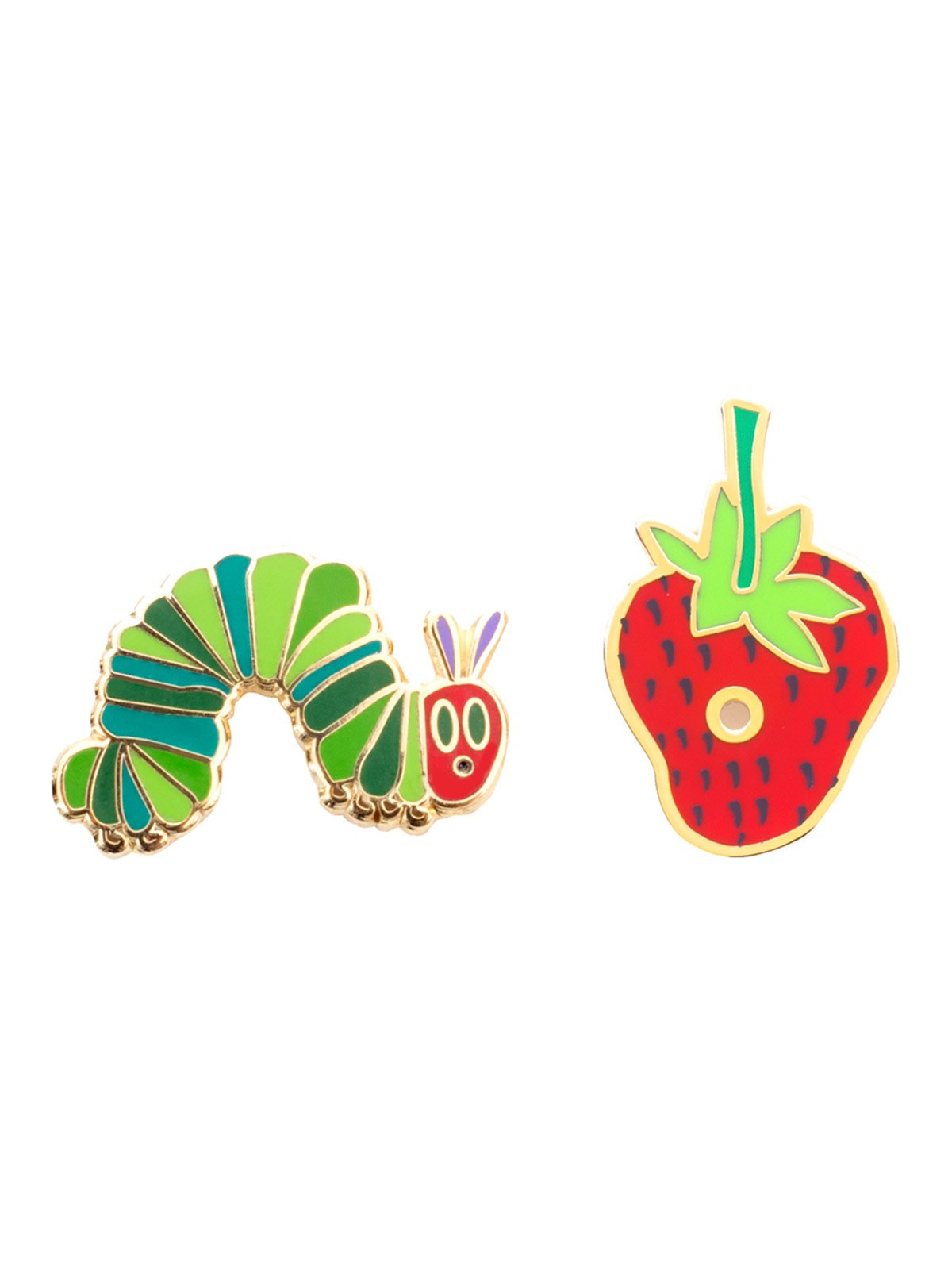 The Very Hungry Caterpillar Out Of Print Enamel Lapel Pin Set