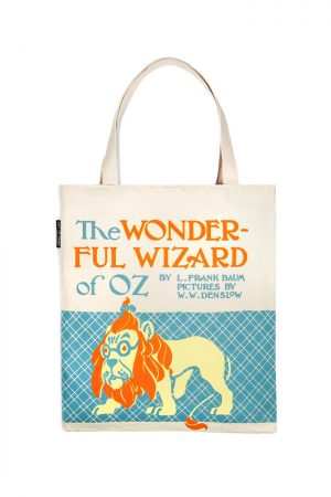The Wonderful Wizard of Oz Out Of Print Book Cover Canvas Tote