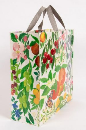 Orchard Blue-Q Shoppers Tote New ReUsable