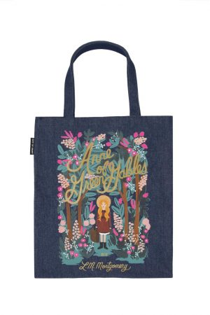 Anne of Green Gables Out Of Print Book Cover Canvas Tote Bag