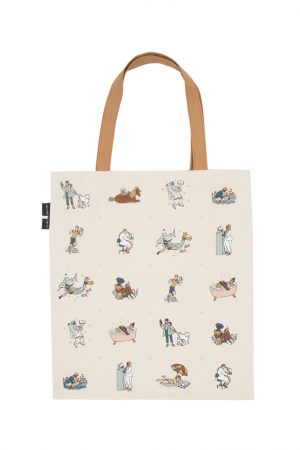 Read Like a Girl Out Of Print Book Cover Canvas Tote Bag