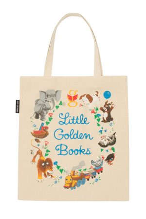 Little Golden Books Out Of Print Book Cover Canvas Tote Bag