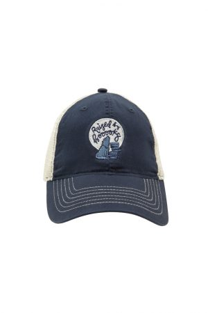 Raised by Books Wolf Out of Print Trucker Cap New Unisex