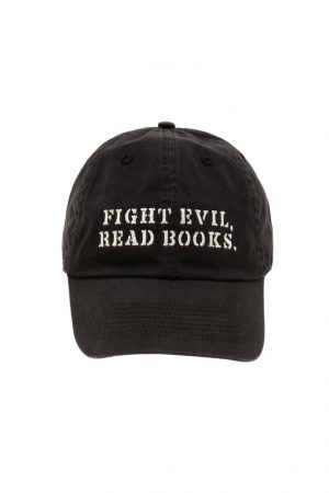 Fight Evil, Read Books Out of Print Ball Cap New Unisex