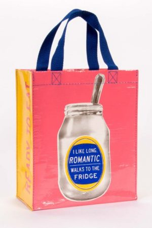 I like Romantic Blue-Q Handy Tote New Re-Usable Bag