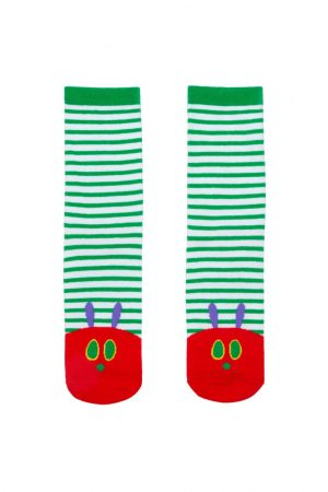 The Very Hungry Caterpillar Out of Print Unisex Small Crew Socks