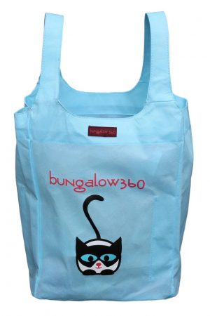 "Cat Bungalow360 Big Bag Tote New Re-Usable 16.5""h x 12""w x 7""d"