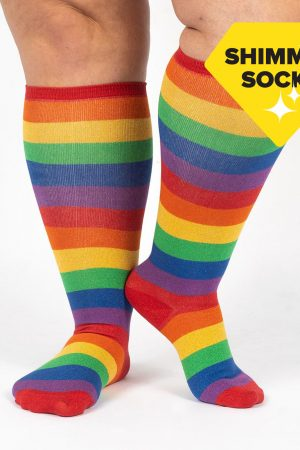 March with Pride Stretch-It™ Unisex Knee High Socks