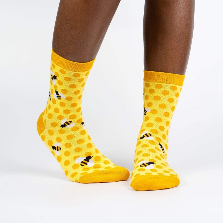 Bee's Knees Sock It To Me Women's Crew Socks