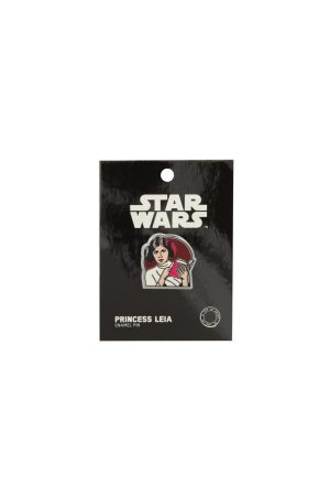 Princess Leia Star Wars READ Out Of Print Enamel Lapel Pin