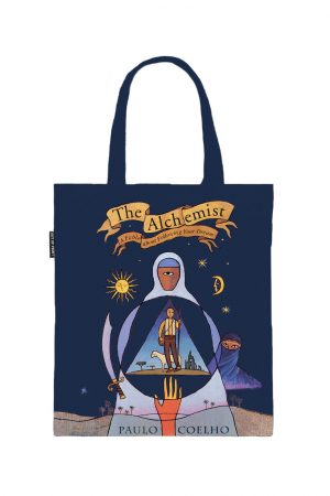 The Alchemist Out Of Print Book Cover Canvas Tote Bag