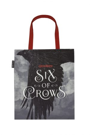 Six of Crows Out Of Print Book Cover Canvas Tote Bag