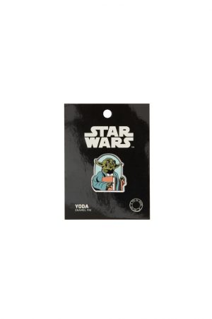Yoda Star Wars READ Out Of Print Enamel Lapel Pin