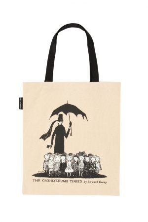 The Gashlycrumb Tinies Out Of Print Book Cover Canvas Tote Bag