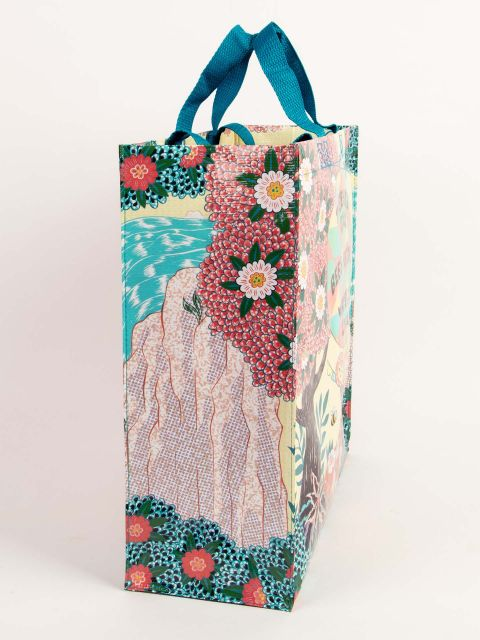 Trees are Cool Blue-Q Shopper Tote New Re-Usable