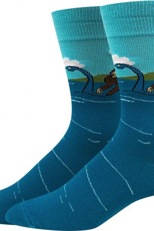 Bigfoots & Loch Ness Bigfoot Sock Co Unisex Crew Socks