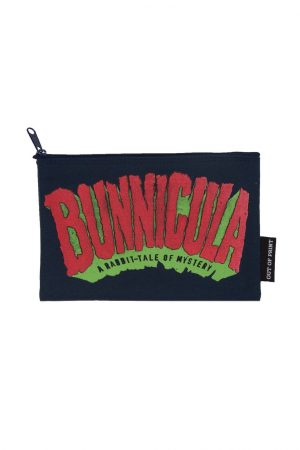 "unnicula Out Of Print Canvas Pouch New 9"" w x 6"" h"