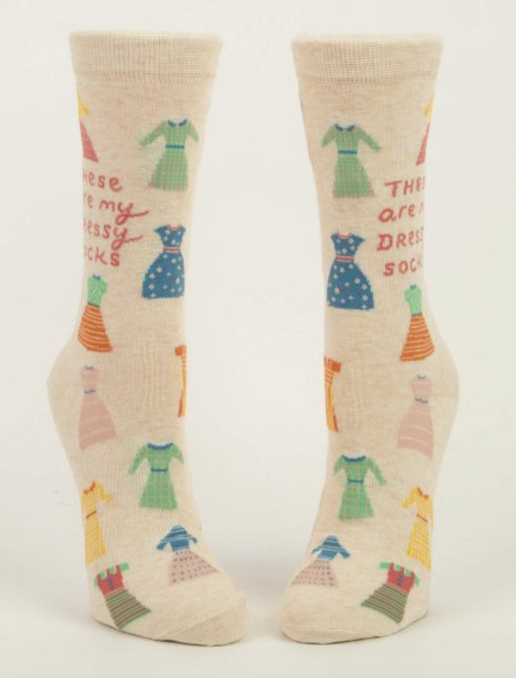 These Are My Dressy Blue-Q Women's Crew Socks New Novelty