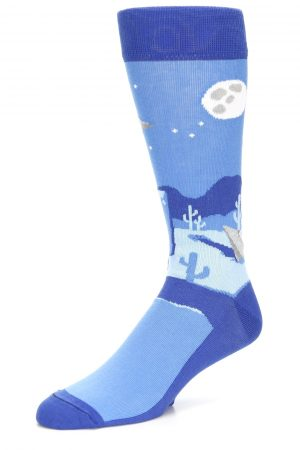 Area 51 UFO bold Men's Crew Socks New Novelty Aliens are Out There